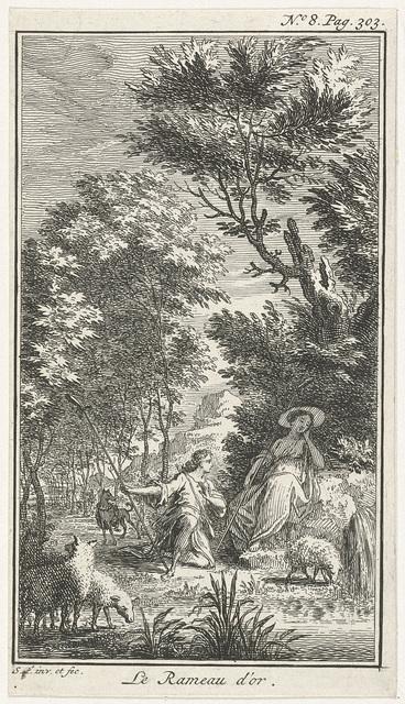 Schaapherder knielt voor herderin