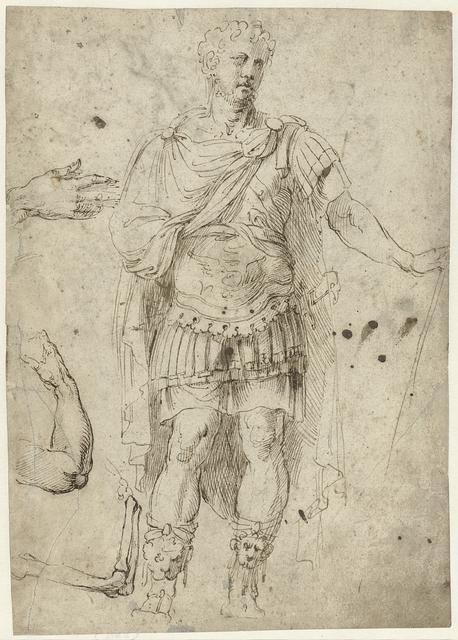 Schets van keizer Trajanus