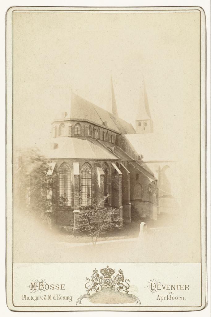 Schip van de Bergkerk in Deventer