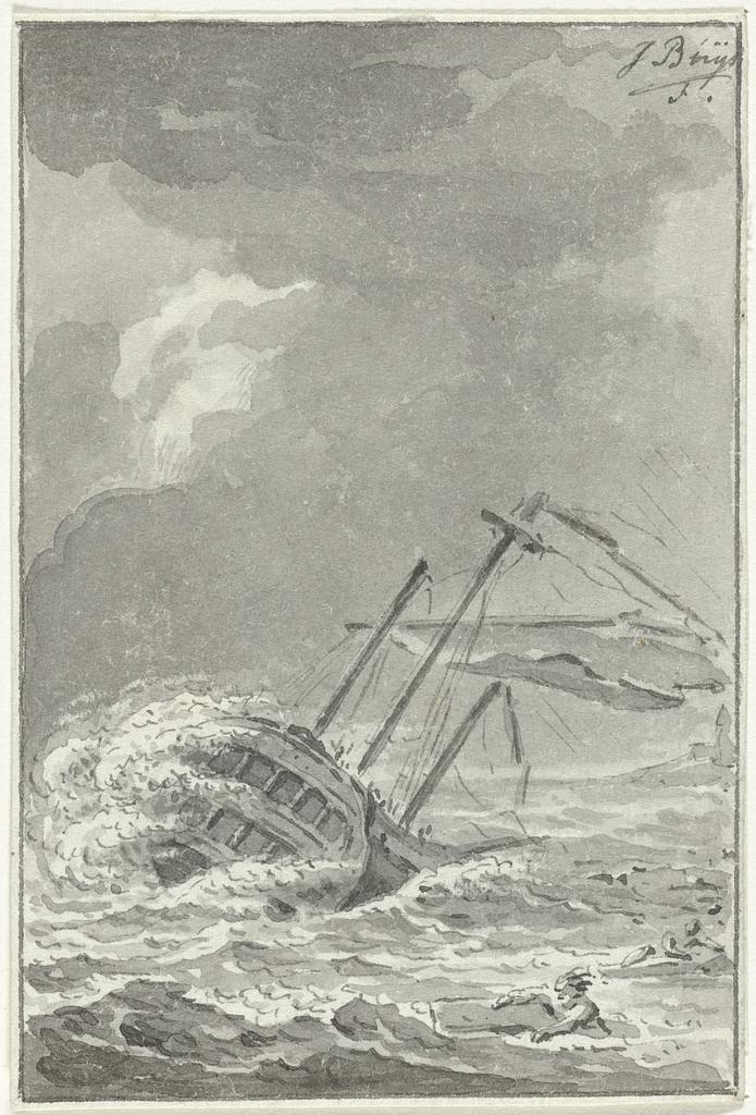 Schipbreuk van de Overhout, 1777