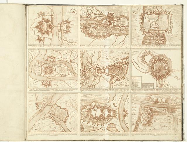 Schouwburg van den oorlog (blad XXIX), ca. 1700-1710