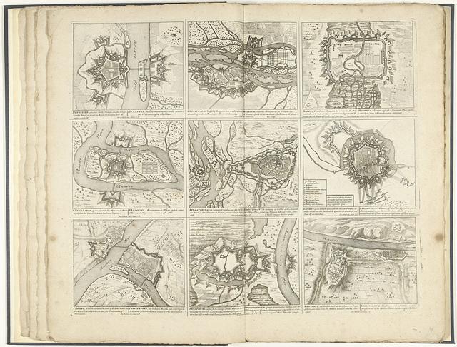 Schouwtoneel van den oorlog (blad XXIX), ca. 1700-1710