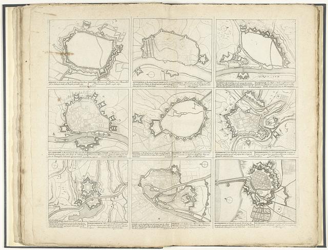 Schouwtoneel van den oorlog (blad XXXI), ca. 1700-1710
