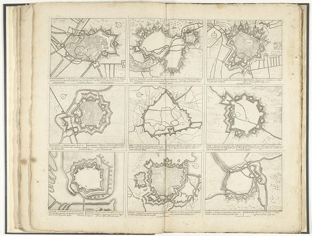 Schouwtoneel van den oorlog (blad XXXII), ca. 1700-1710