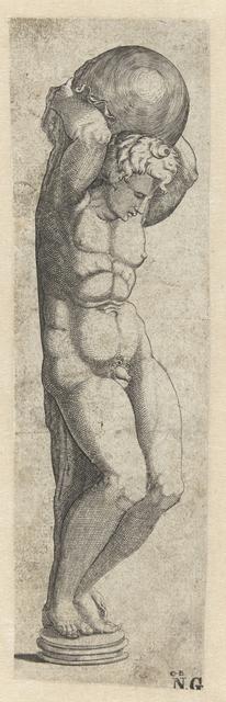 Sculptuur. Atlas