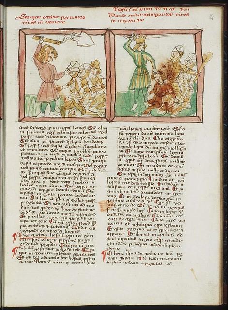 Shamgar slays six hundred Philistines