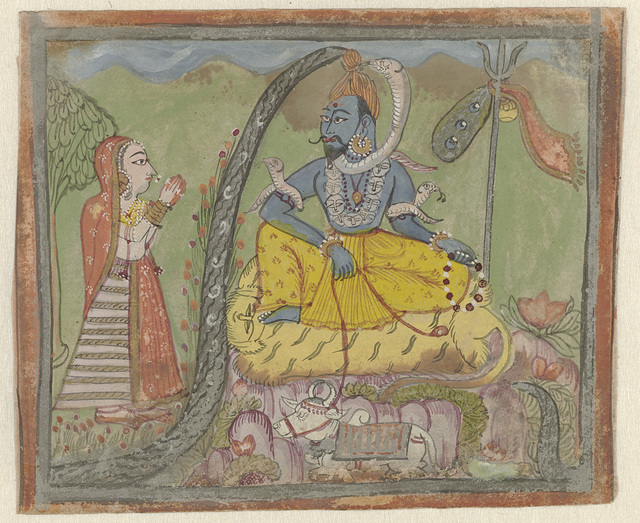 Shiva en Parvati