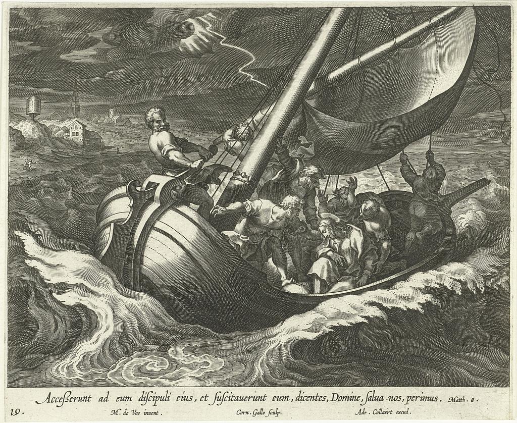Storm op het Meer van Galilea