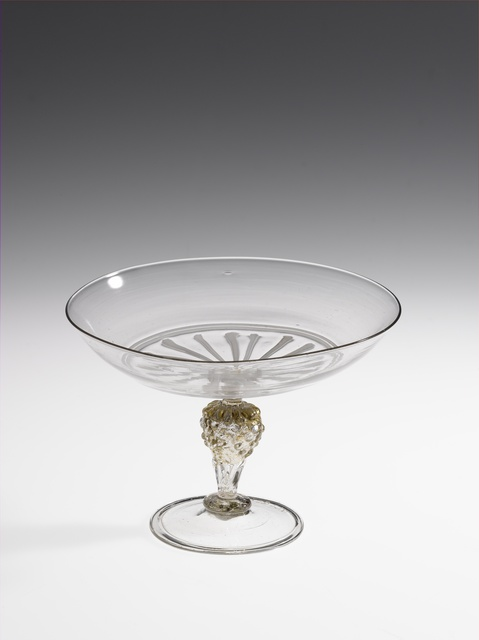 Tazza (wine glass with a shallow bowl)