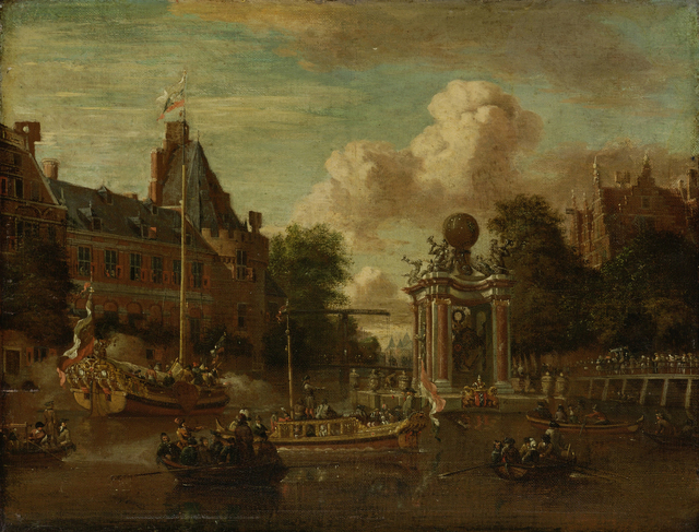 The arrival of the Russian embassy in Amsterdam, 29 August 1697