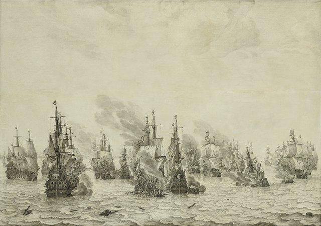 The Battle of Livorno (Leghorn)