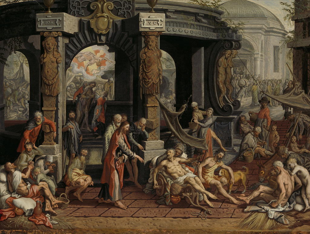 The Healing of the Paralytic, Pool of Bethesda