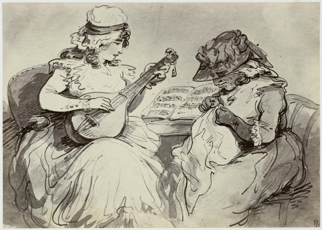 Thomas Rowlandson, A Visit to my Grandmother