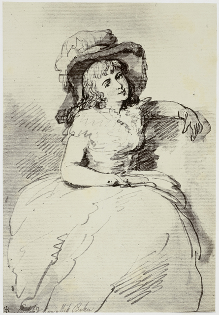 Thomas Rowlandson, Miss Baker