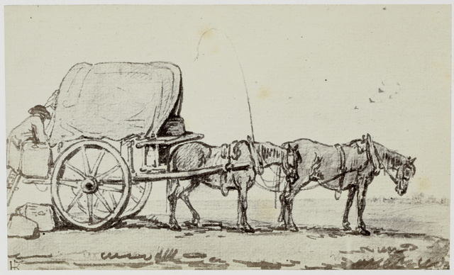 Thomas Rowlandson, The Covered Cart