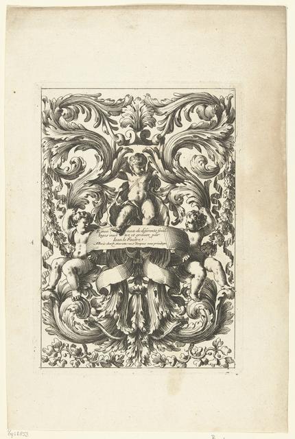 Titelblad: Rinceaux de diferents feuillages