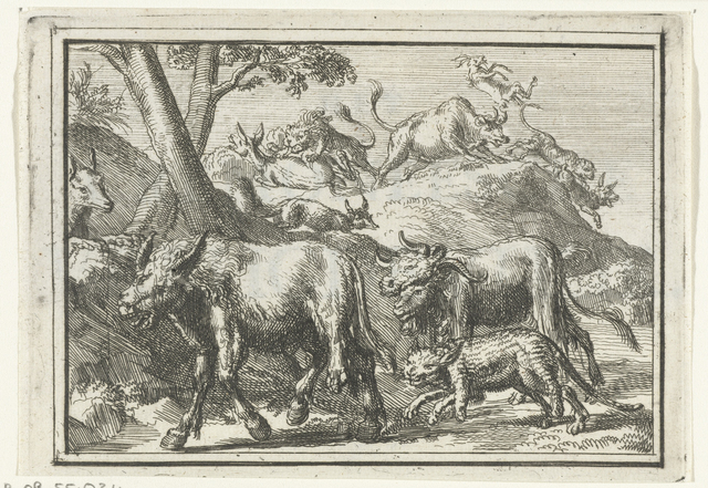 Titelblad voor het pamflet: Het Cremoneesche Vreugdevuur, 1702