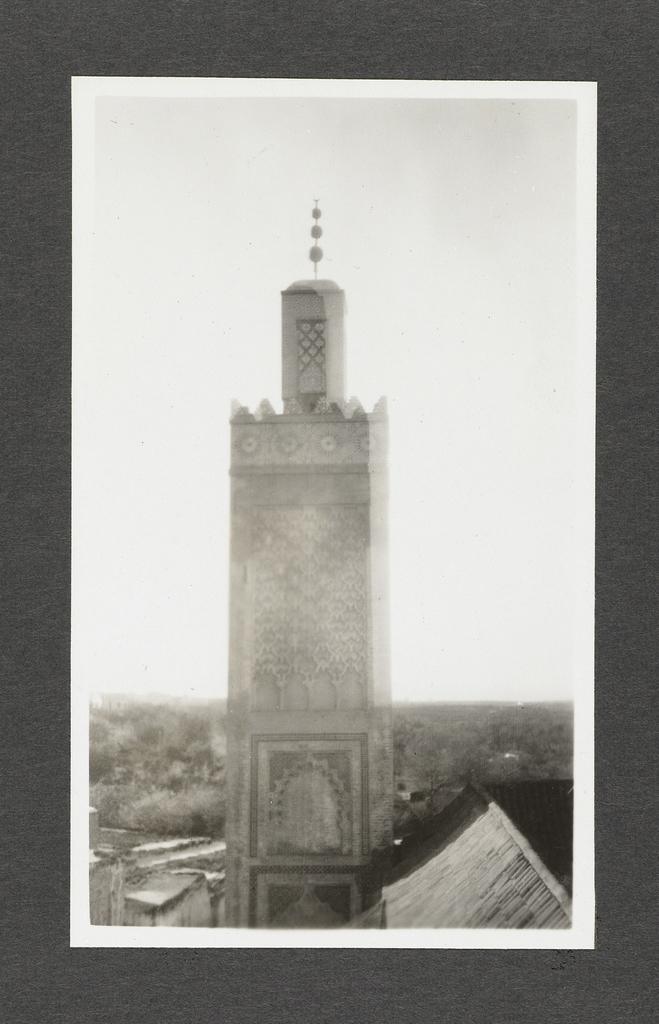 Toren van de moskee van Sidi El Haloei, Tlemcen