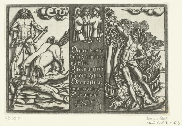 Twee van de werken van Hercules