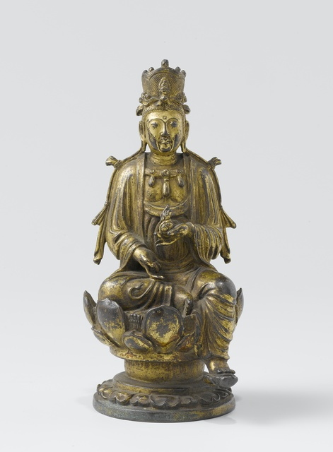 Two figures of Guanyin