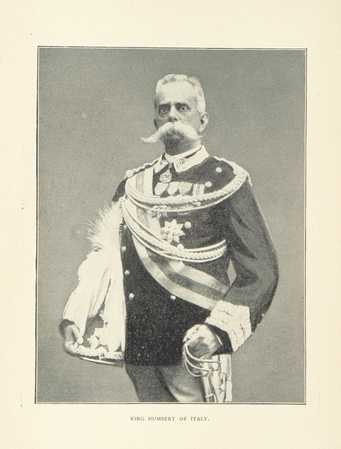 "Umberto I from ""Columbus and Isabella, the Immortals. A souvenir centennial poem"""