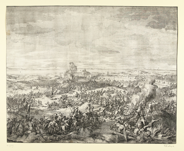 Veldtocht van Christiaan V van Denemarken op het eiland Rügen (rechterhelft), 1677