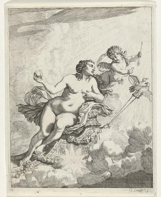Venus vliegt naar de Olympus