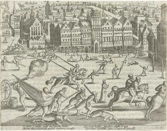 Verovering van Mechelen, 1580