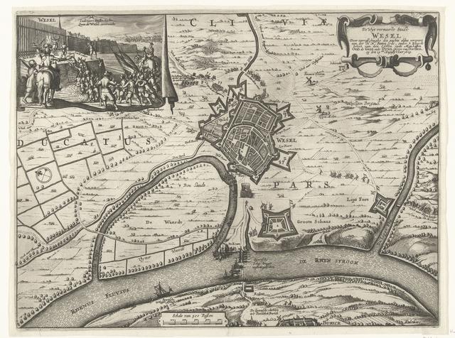 Verovering van Wesel, 1629