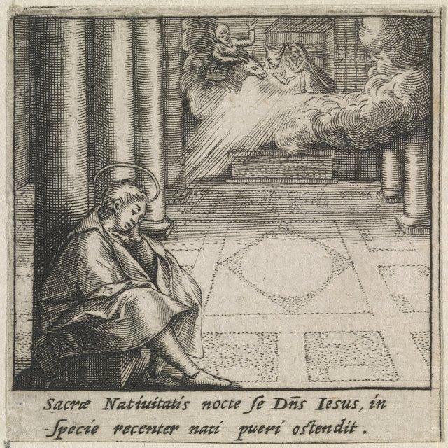Visioen van de Heilige Bernardus van Clairvaux