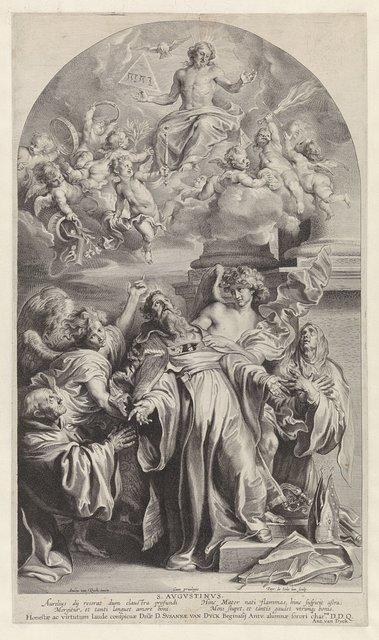 Visioen van Heilige Augustinus
