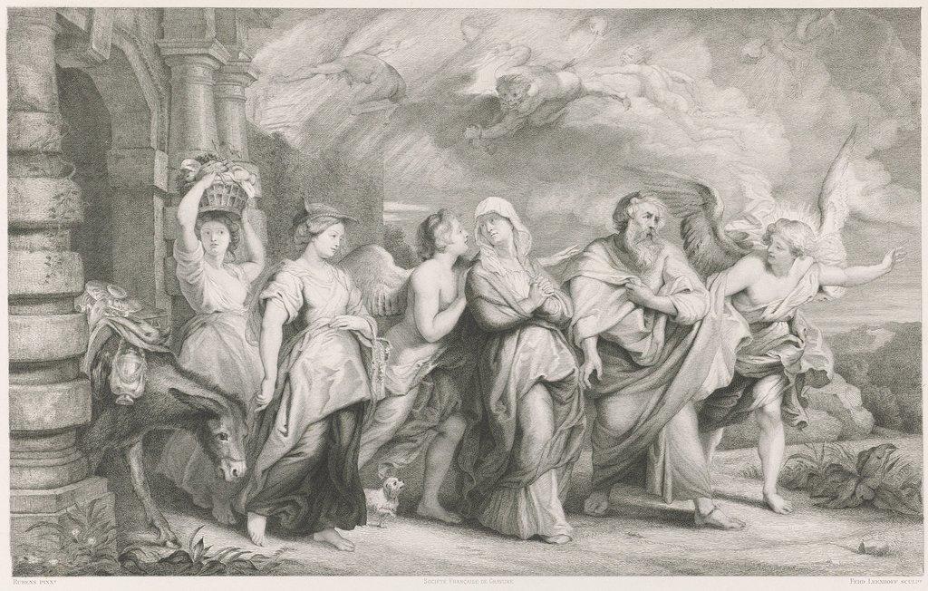 Vlucht van Lot en zijn familie uit Sodom