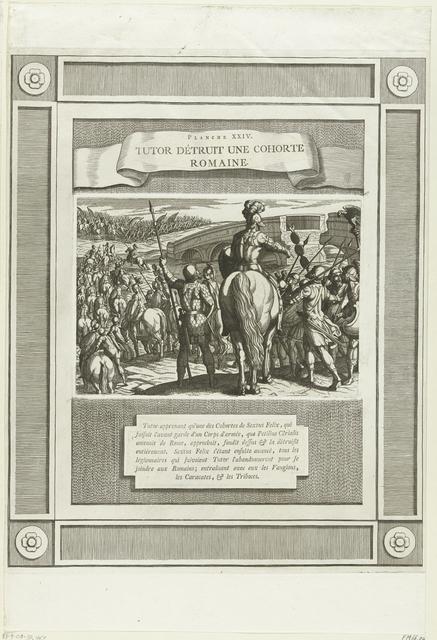 Voorhoede van de nieuwe Romeinse troepen wordt gekeerd, 69-70