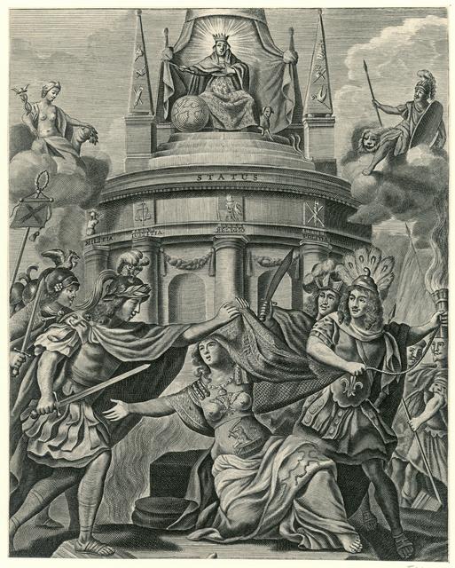 Willem III komt Nederland te hulp, 1672