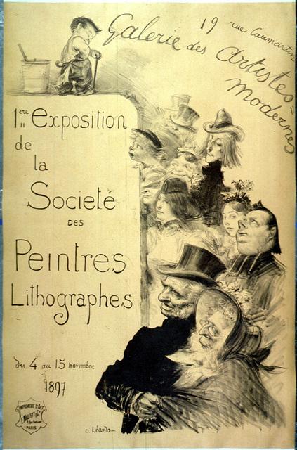 1ere exposition de la Société des Peintres Lithographes