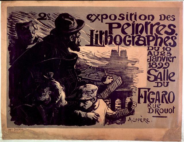 2e exposition des peintres lithographes