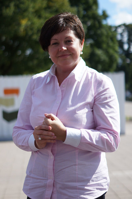 Baltijas ceļa dalībnieces Ivetas Stares fotogrāfija