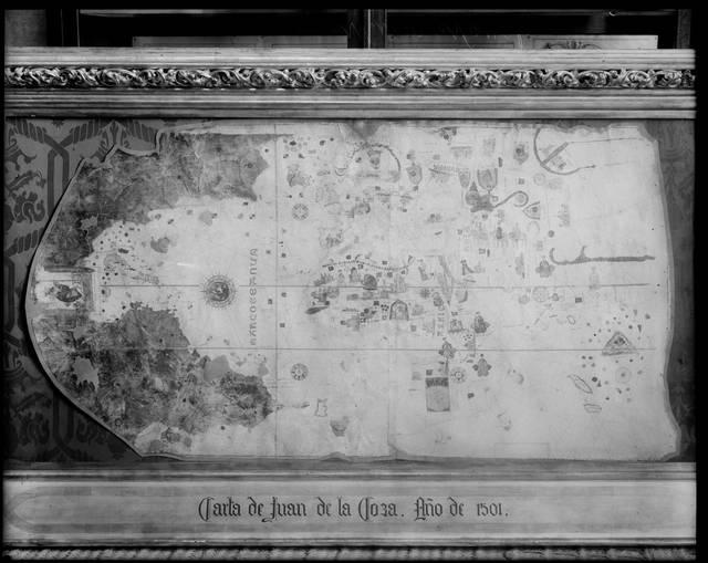 [CARTA DE JUAN DE LA COSA] [Material gráfico]