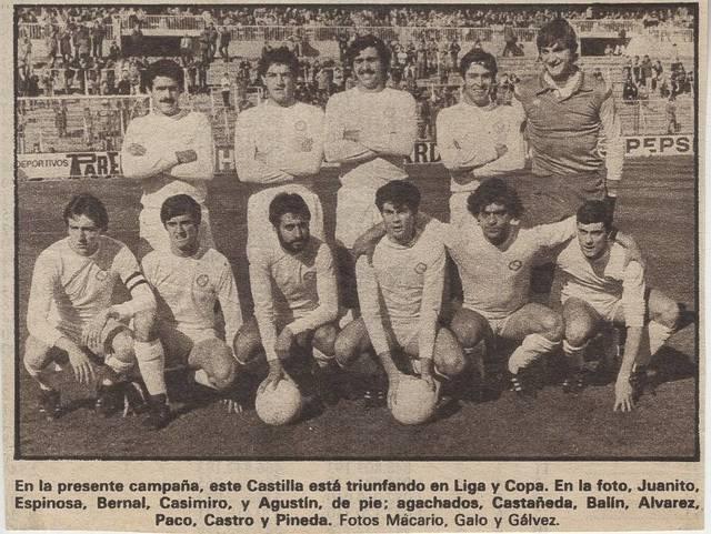 [Castilla Club de Fútbol] [Material gráfico]
