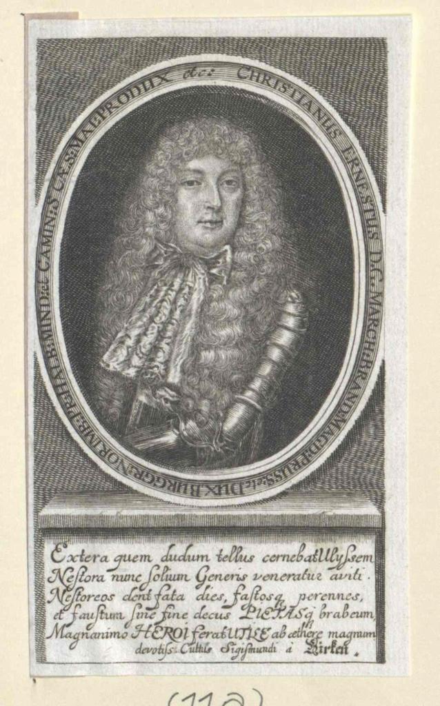 Christian Ernst, Markgraf von Brandenburg-Bayreuth
