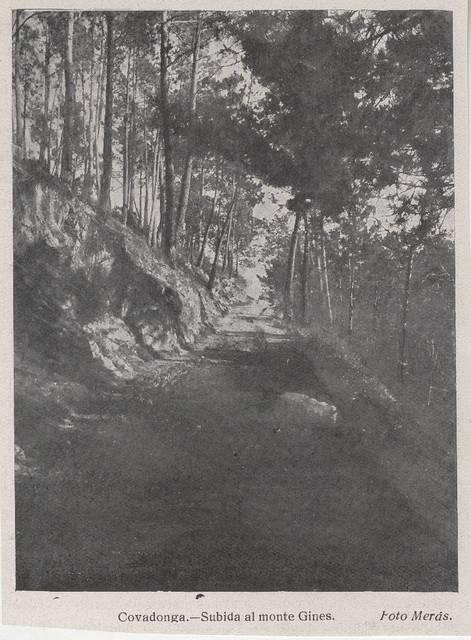 [Colección de fotografías sobre Cangas de Onís (16)] [Material gráfico]: [Covadonga; inmediaciones del real sitio]
