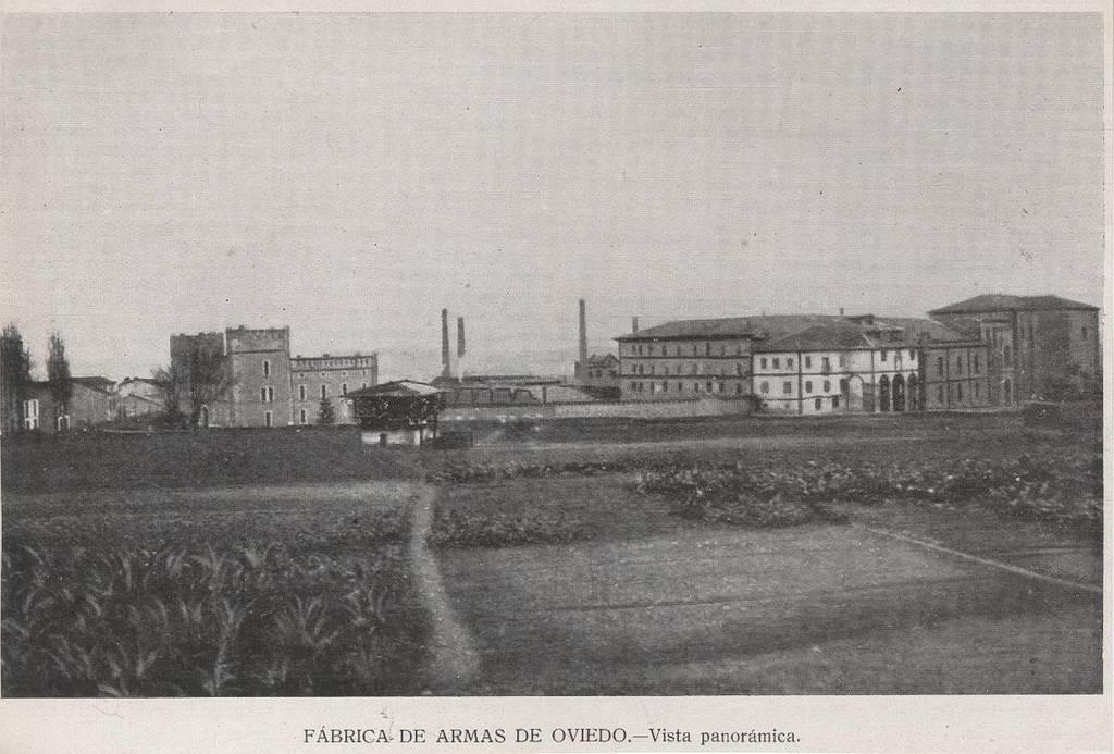 [Colección de fotografías sobre Oviedo] [Material gráfico]: [Fábrica]