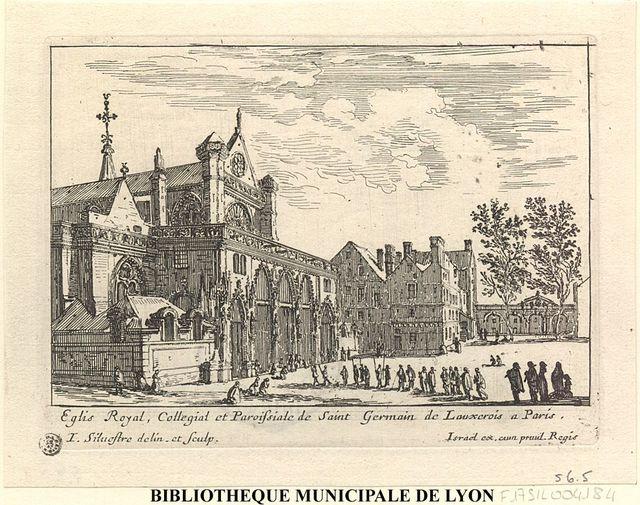 Eglis Royal, Collegial et PAroissiale de Saint Germain de Lauxerois à Paris