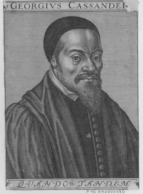 Georges Cassandre, théologien catholique, 1515-1566