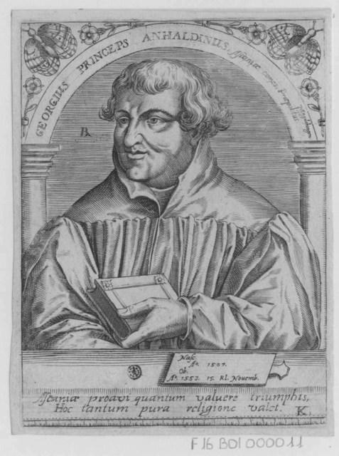 Georgius Princeps Anhaldinus
