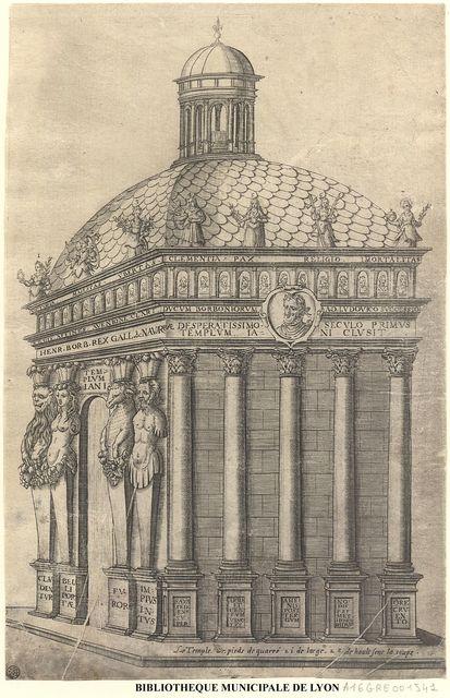Labyrinthe royal de l'Hercule gaulois triomphant ...