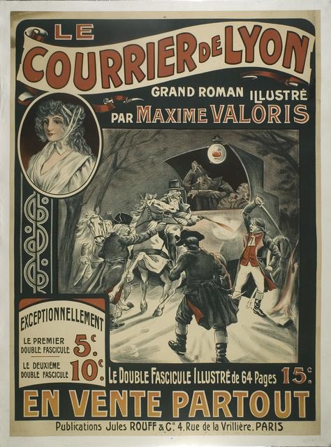 Le courrier de Lyon, grand roman illustré par Maxime Valoris