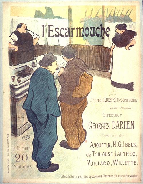 L'Escarmouche journal illustré hebdomadaire