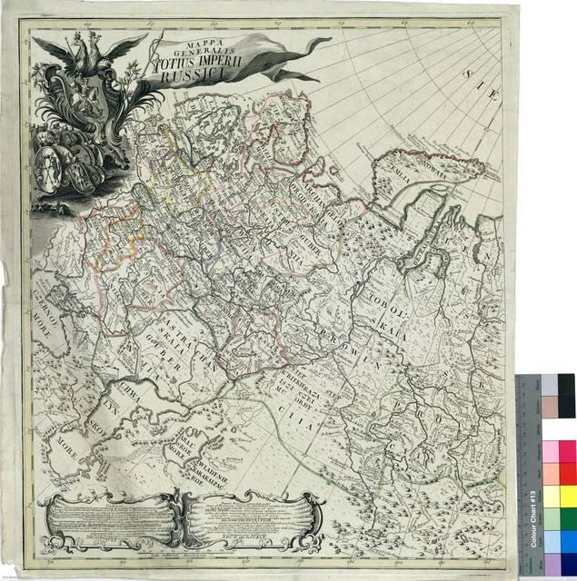 Mappa generalis totius Imperii Russici [Mapa]
