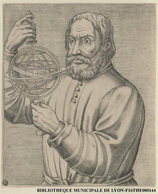 Portrait de Jean de Sacro Busto ou Johannes de Sacro Bosco
